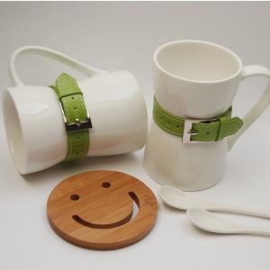 Conjunto Mug Cinturón Verde