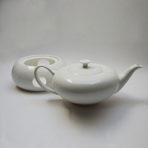 Tetera Porcelana Blanco